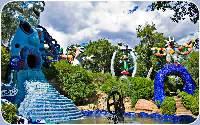 Il giardino dei Tarocchi a Capalbio